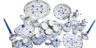 Royal Copenhagen Porcelain Serving Set