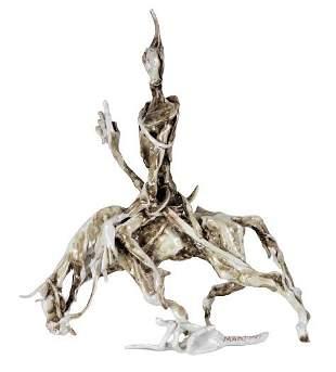 Frosco Martini Italian Glazed Figural Sculpture