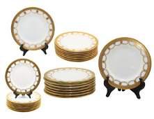 Tiffany & Co Coalport England Dish Set, 24 pcs