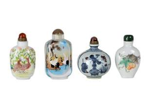 (4) Chinese Snuff Bottles