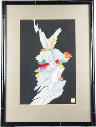Lilian May Miller (1895-1943) Amer, Woodcut Print