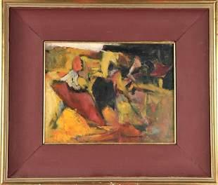 Modern Impressionist Abstract, O/B