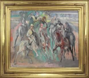 Jon Corbino (1905-1964) American, Oil on Canvas