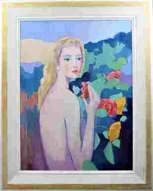 Jacques 'Lejeune' Renard (1930-2003) French, O/C