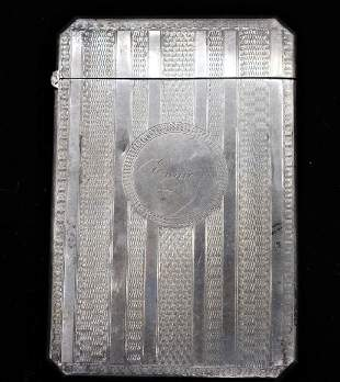Continental Silver Container