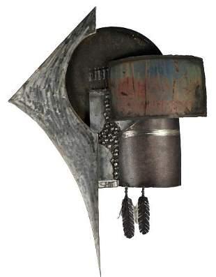 Rick Stewart (20/21st C.) Amer, Metal Sculpture