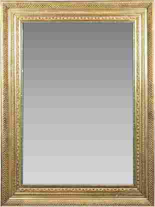 Antique Gilt Carved Wood Frame Mirror