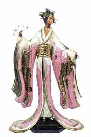 "Erte Bronze ""Madame Butterfly"""