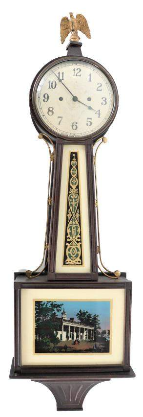 Early 20th C. New Haven Banjo Clock
