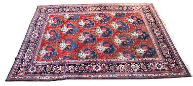 Semi-Antique Heriz Persian 8x10 ft.