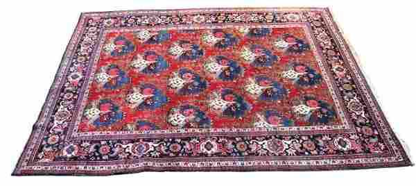 Semi-Antique Heriz Persian 8x10 ft.