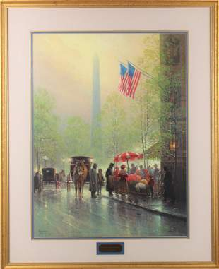 G. Harvey 'Pinnacle of Freedom' Lithograph.