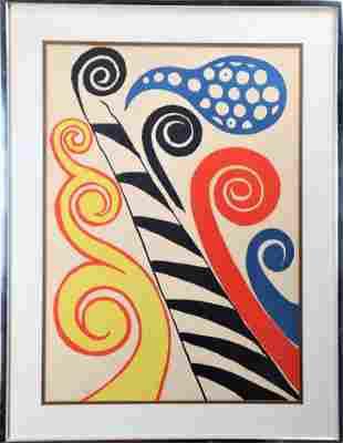 Alexander (Sandy) Calder (1898-1976), Amer, Litho