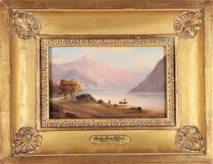 Charles Henry Gifford (1839-1904) American, O/B