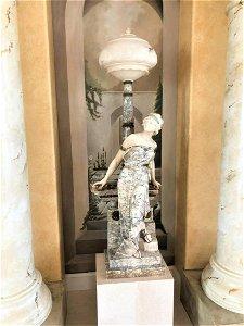 Dante Zoi (19/20th C) Italian, Sculpture/Lamp