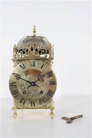 Winterhalder & Hofmeier Lantern Clock Ca. 1851