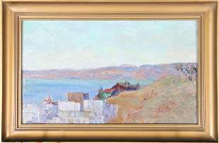 Constance Mabel Easley Peters(1878-1939) Amer, O/C