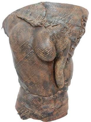 Barbara Sorensen (b1945) Amer, Ceramic Sculpture