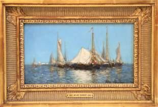 Milne Ramsey (1847-1915) American, Oil on Board