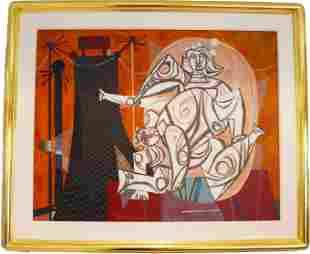 Byron (George Byron) Browne (1907-1961) O/C
