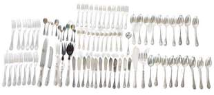 French Christofle 85 pcs Silver Plated Service