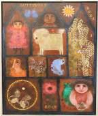 Carol Jablonsky (1939-1992) American, O/B