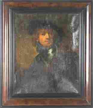 After Rembrant Van Rijn (1606-1669) Dutch O/C