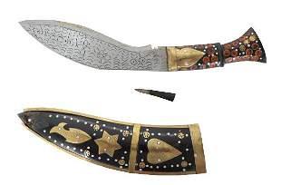Vintage Decorative Dagger & Sheath