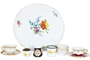 Collection of (16) Miscellaneous Porcelain