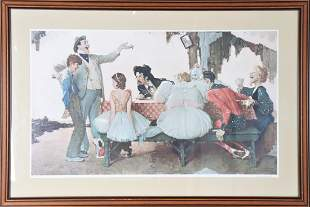 Norman Rockwell (1894-1978) American, Print