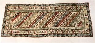 Early 20th C Exceptional Kazak Runner