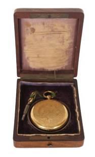 Antique Pocket Watch & Case