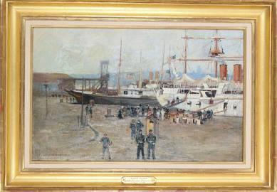 Carlton T Chapman (1860-1925) Amer, Oil / Canvas