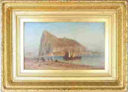 Robert Swain Gifford (1840-1905) American, Oil/C