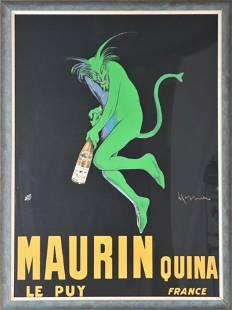 Maurin Quina by Leonetto Cappiello, Lithograph