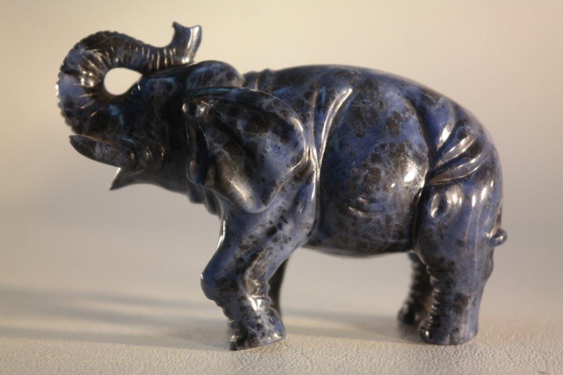 Antique Chinese Lapus-like carved Elephant