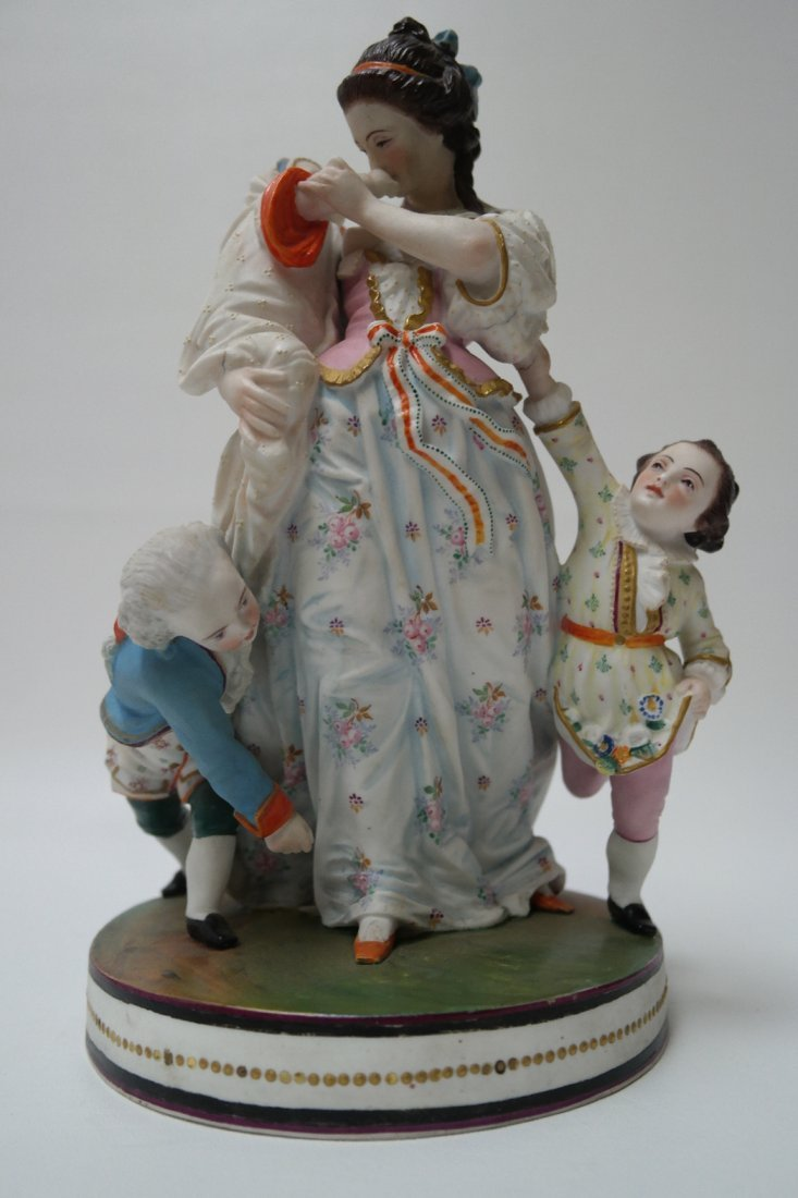 19th Century Continental Figural Group