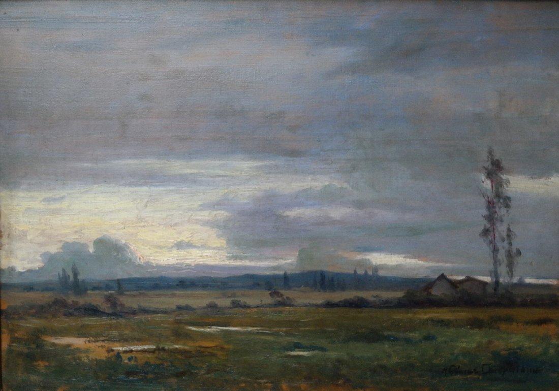 Ricardo G. Campuzano  (1891 - 1981) Columbian Landscape