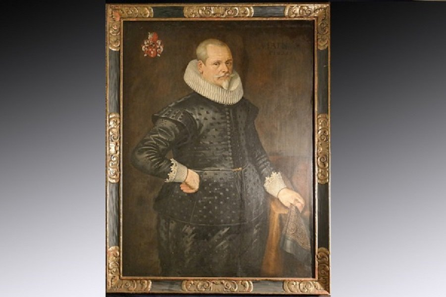 Life Size 1628 Spanish Old Master Portrait