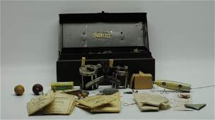 Vintage Falls City Tacklebox w/ Accoutrements