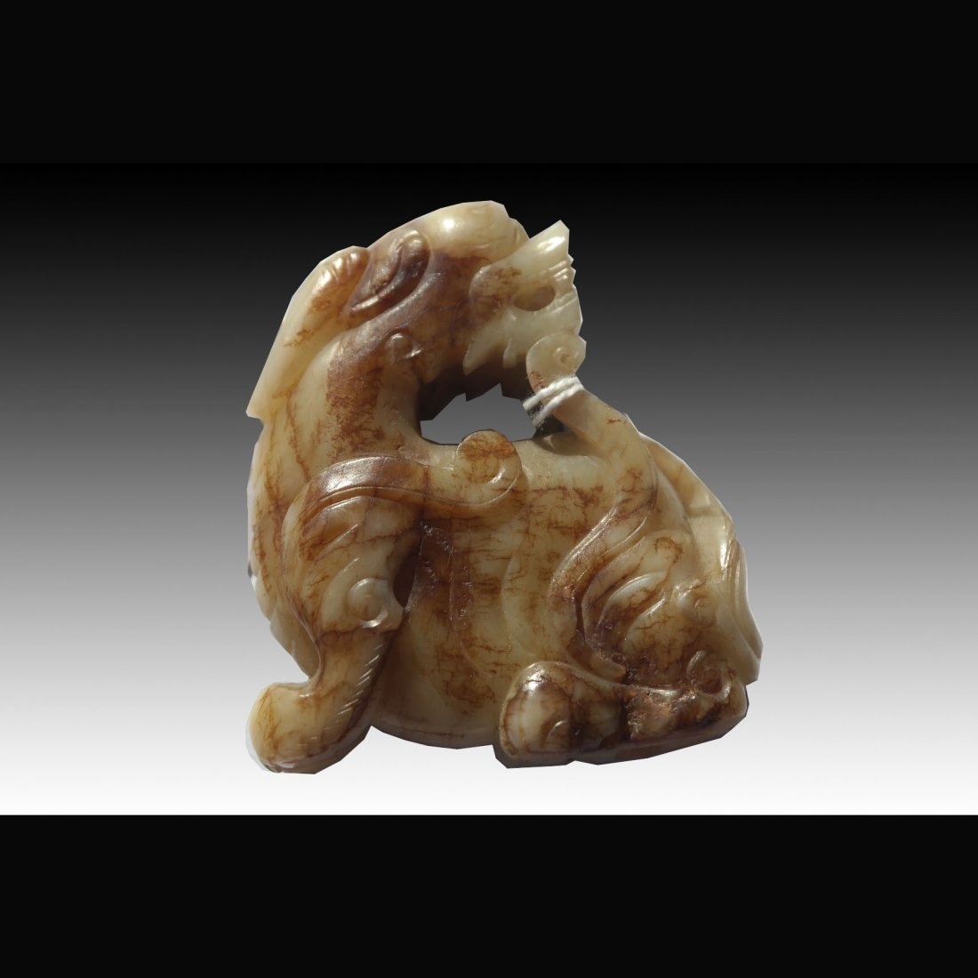 Carved Jade Dragon