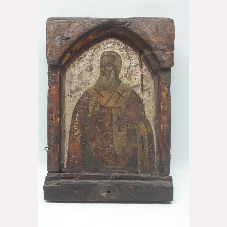 Important Early 17th C. Greek Icon