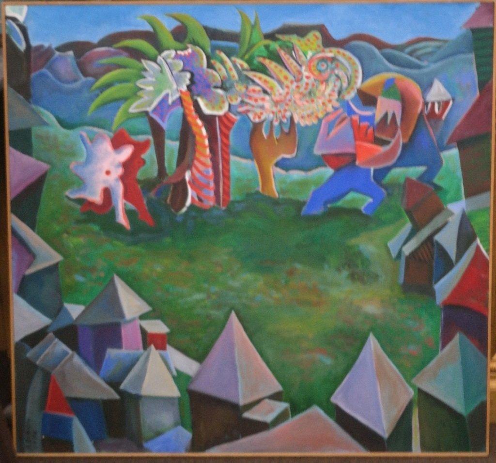 Eleanor Dixon-Stecker Oil on Canvas American