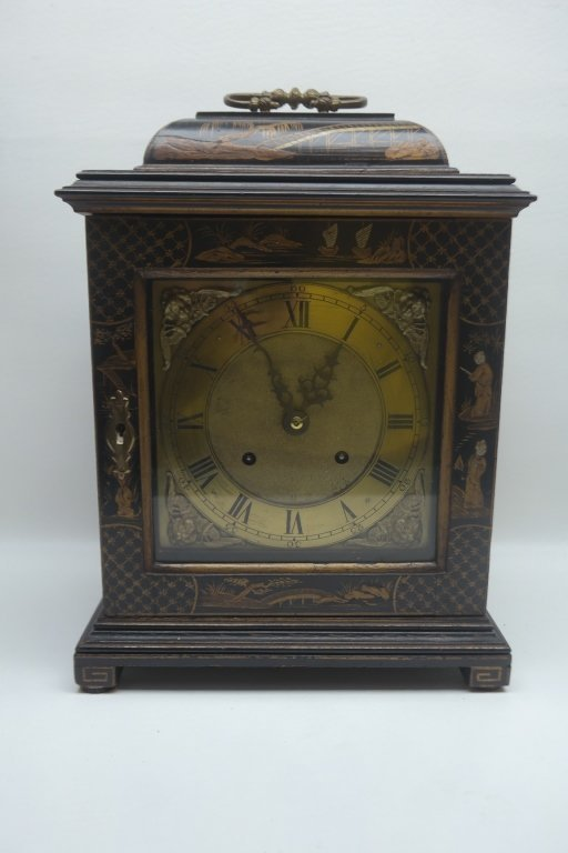 Antique Chinoiserie Mantle Clock
