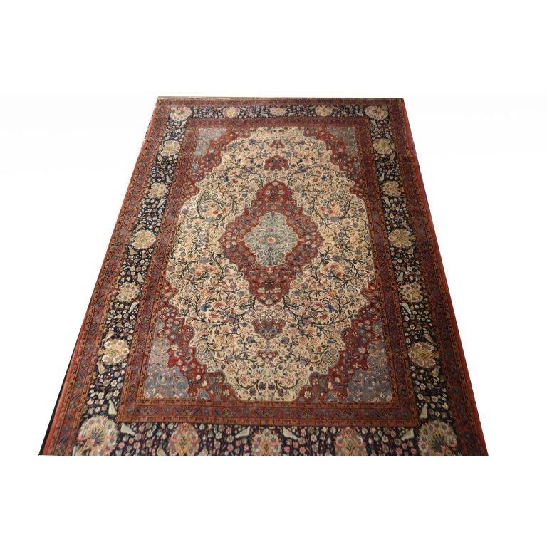 "Fine Antique Persian Kashan ""Dabir"""