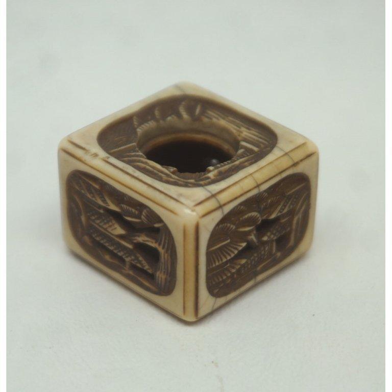 C. 1840 Japanese Ivory Manju Netsuke