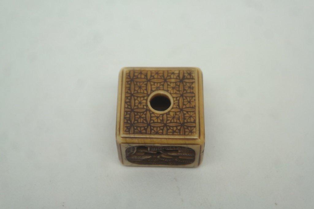 C. 1840 Japanese Ivory Manju Netsuke - 2