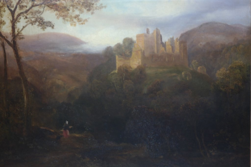 Framed Scottish Landscape Painting