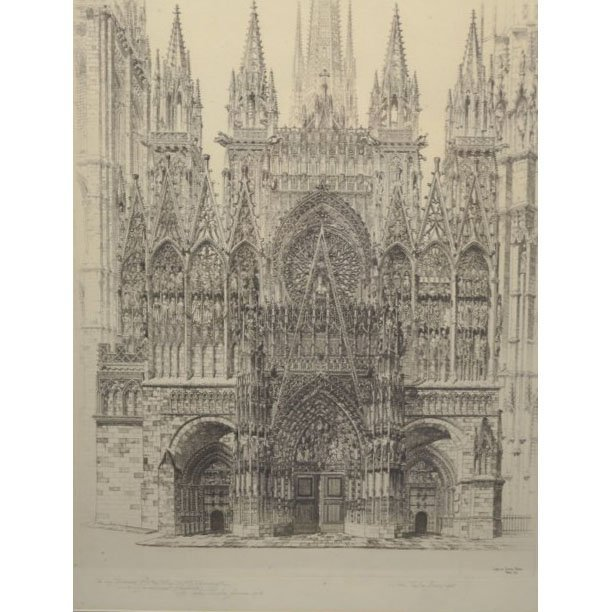 John Taylor Arms (1887-1953) Etching