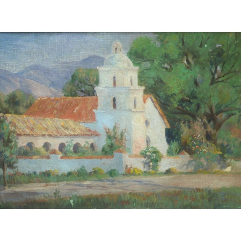 George Loftus Noyes (1854-1954) California Mission